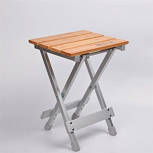 Jack Mall Klappstühle Strandstühle Schreibstühle Freizeit Stühle Portable Stühle Outdoor Stühle Bamboo Side Folding Hocker