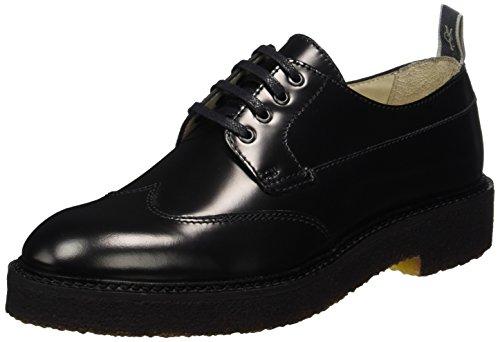 Marc O'Polo Damen Lace Up Shoe 70814263401112 Brogues, Schwarz (Black), 37 EU