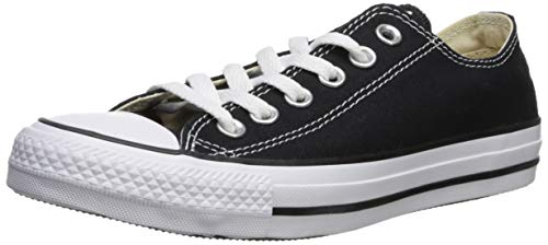 newest 3dfe1 0b3a8 Converse Chuck Taylor All Star Ox, Zapatillas Unisex adulto, Negro  (Black White