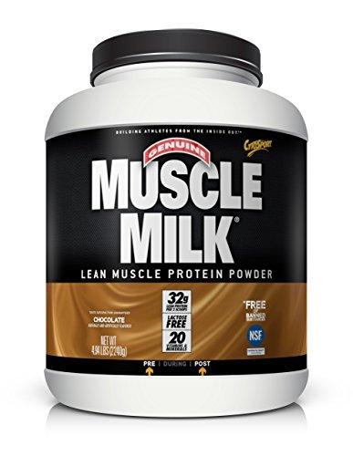 CytoSport Muscle Milk 2240 g Chocolate Whey Protein Shake Powder by Cytosport