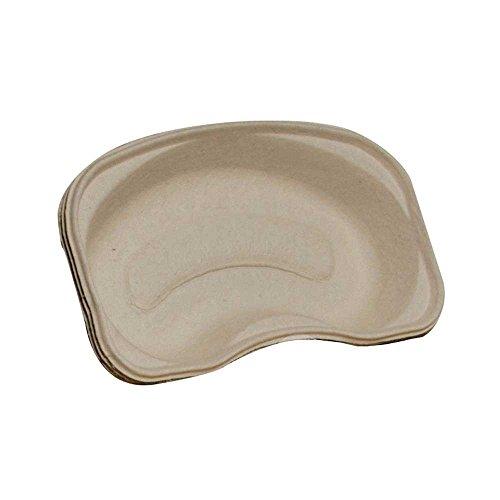 MaiMed Bowl Eco Einmalnierenschalen 50 Stück aus Pappe Einweg Nierenschale Nieren Schale