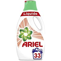 ARIEL Sensitive Lessive Liquide 1,815 L 33 Lavages -