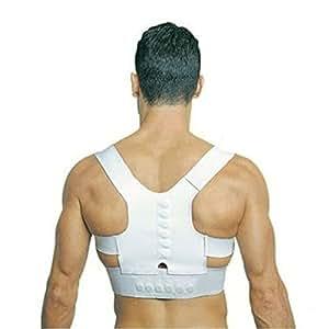 Supporto tutore a fascia per correzione postura schiena fascia posturale con magneti. MWS (Magnetic)