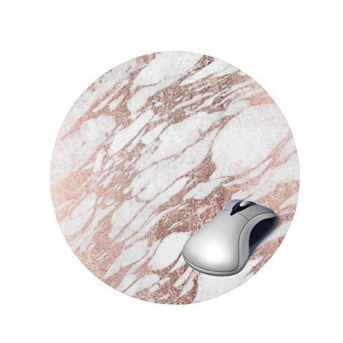 Runde und schöne Mauspad kreisförmige Marmor Muster Notebook Computer Mauspad Spielmatte 3, 20cm