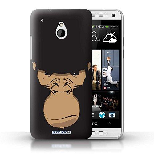 iCHOOSE Print Motif Coque de protection Case / Plastique manchon de telephone Coque pour Apple iPhone 5/5S / Collection Museaux / Cheval Gorille / Chimpanzé / Singe