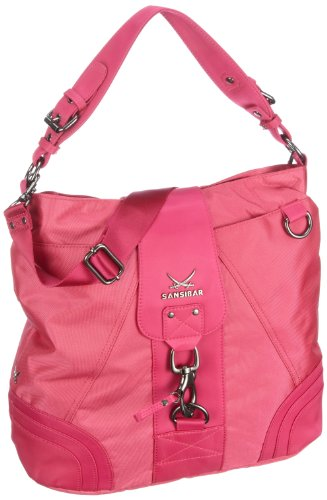 Sansibar Calima B-501 CA 37, Borsa donna, 37 x 36 x 17 cm (L x A x P) Rosa (Pink (fuxia))