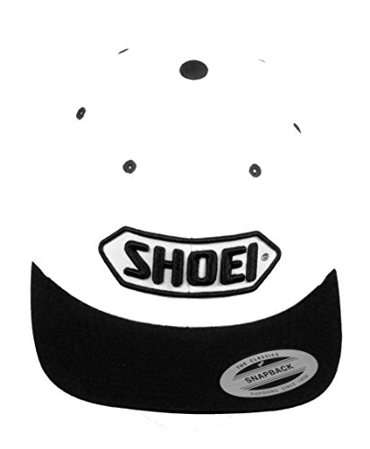 original-Shoei-Bascap-Kappe-Mtze-weiss-schwarz