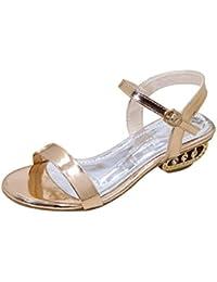 ASHOP Sandalias Mujer Bohemia Las Bailarinas Planas Zapatos de Cordones  Verano Punta Abierta Moda Zapatillas De 720dd4e76ee5