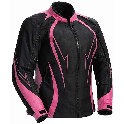 Juicy trendz le signore motociclo giacca da donna blindata impermeabile