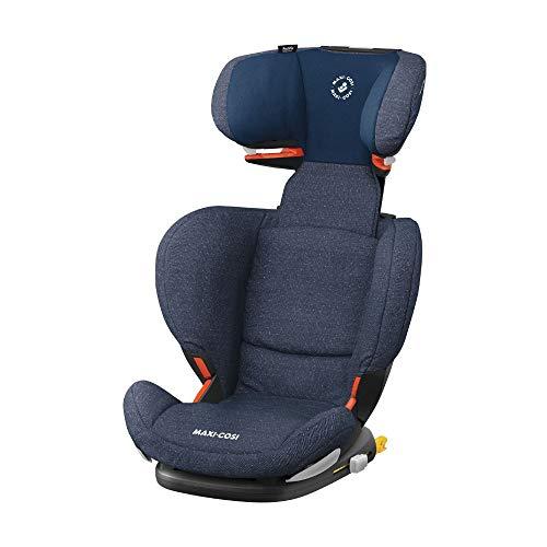 Maxi Cosi RodiFix AirProtect (AP) Kindersitz, Gruppe 2/3, ISOFIX-Sitzerhöhung, optimaler Seitenaufprallschutz, 3,5 - 12 Jahre, 15 - 36 kg, sparkling blue