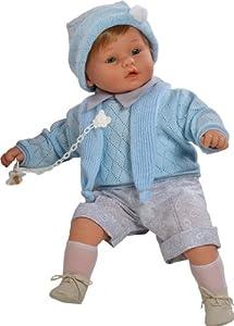 Berbesa - Dulzon, muñeco bebé llorón, 62 cm (80251)