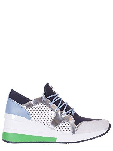 Michael Kors Zapatillas de Piel Para Mujer Blanco Bianco Blanco Size: 38 EU