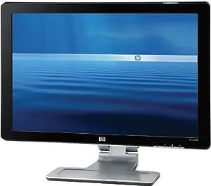 HP Pavilion w2408h 61 cm (24 Zoll) TFT-Monitor digital/analog HDMI (Kontrast 3000:1, 5ms Reaktionszeit) schwarz/silber
