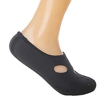 Juleya Mens Womens Kids Water Shoes Aqua Socks Diving Socks Pool Beach Swim Slip On Surf Amazon
