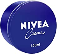 NIVEA Creme, Universal All Purpose Moisturizing Cream, Tin 400ml