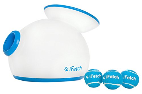 iFetch Ball Launcher for Dogs, White