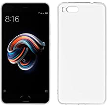 Funda Silicona Xiaomi Mi NOTE 3 (Transparente)