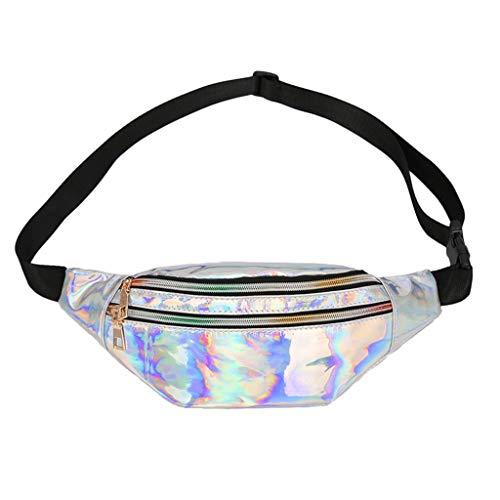 Luckycat Holograma Bolsa De Riñonera