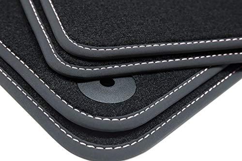Tuning-Art V202 Winter Fußmatten Gummirückseite Steppnaht