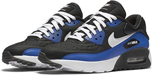 Preisvergleich Produktbild Nike AIR MAX 90 ULTRA SE (GS) boys running-shoes 844599-003_6.5Y - BLACK/WHITE-GAME ROYAL