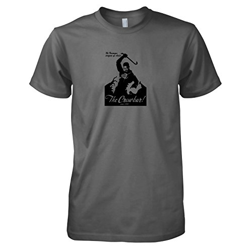 (Texlab - Gordon Freemans Weapon of Choice - Herren T-Shirt, Größe XL, grau)