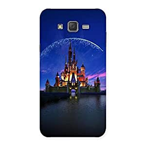 Delighted Castle Multicolor Back Case Cover for Galaxy J7
