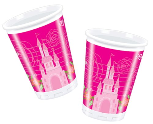 Disney Amscan Princess été/Palace Tasses 180 ml