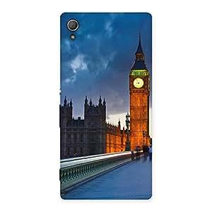 Special London City Multicolor Back Case Cover for Xperia Z3 Plus