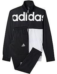 adidas TS BTS - Chándal para hombre, color negro / blanco, talla 210