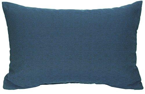 Gartenstuhl-Kissen Rückenkissen Zierkissen Struktur dunkelblau für Lounge Gruppen ca. 60 x 40 cm