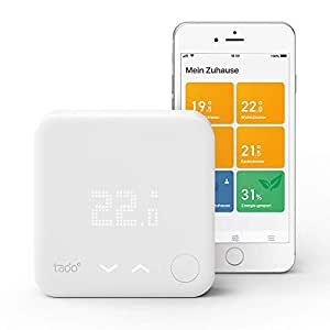 Tado Smartes Thermostat Starter Kit V3+ (Intelligente Heizungssteuerung, kompatibel mit Amazon Alexa, Apple HomeKit, Google Assistant, IFTTT)