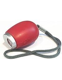 Mini linterna reloj de proyección reloj linterna Lanyard pequeñas de proyección de reloj cadena de clave, 2