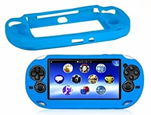 SODIAL(R) Custodia protettiva in silicone per Sony PlayStation PS Vita PSV