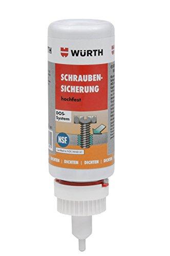 Preisvergleich Produktbild Würth Schraubensicherung hochfest 25gr SABESTO