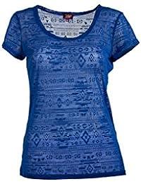 Coline - Tee shirt femme effet dévoré