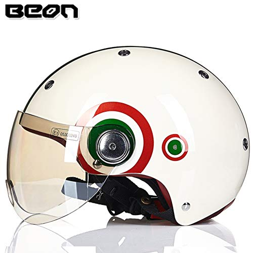 Origine Helmets 204271718100002 Delta Solid Casco Apribile con Bluetooth Integrato Bianco XS