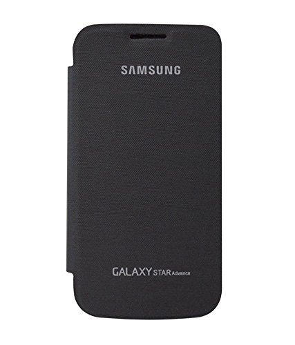 Samsung Galaxy Star Advance Flip Cover - Black  available at amazon for Rs.129
