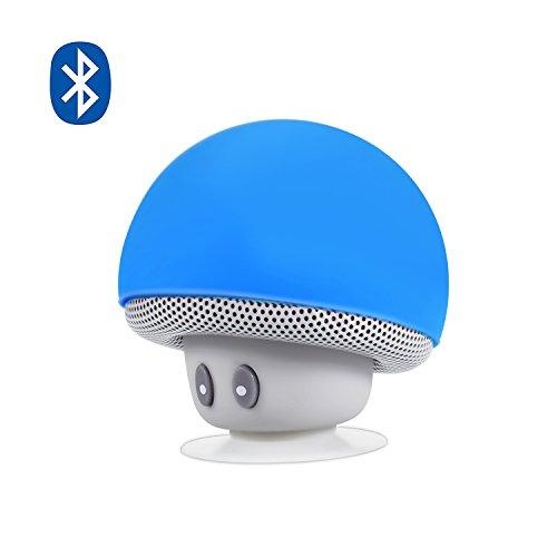Bluetooth Lautsprecher, Alfort Tragbarer Mini Wireless Speaker/Eingebautem Mikrophone Freisprechen/Lautsprecher Für Smartphones, Tablets, iPads, andere Bluetooth Geräte (Blau) - Bluetooth Ipad Tragbar Lautsprecher