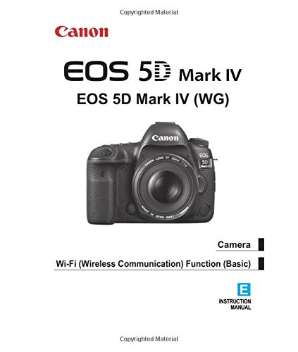 Canon EOS 5D Mark IV Instruction Manual