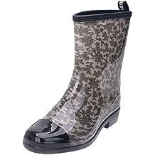 b3ec1ea336 Amazon.es  botas agua mujer - Gris