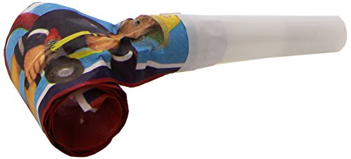 Amscan International Tröte/Blasrolle, Design: Feuerwehrmann Sam