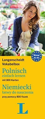 Langenscheidt Vokabelbox Polnisch einfach lernen - für Anfänger und Wiedereinsteiger: Box mit 800 Karten, Polnisch-Deutsch / Deutsch-Polnisch (Langenscheidt Vokabelbox einfach lernen)