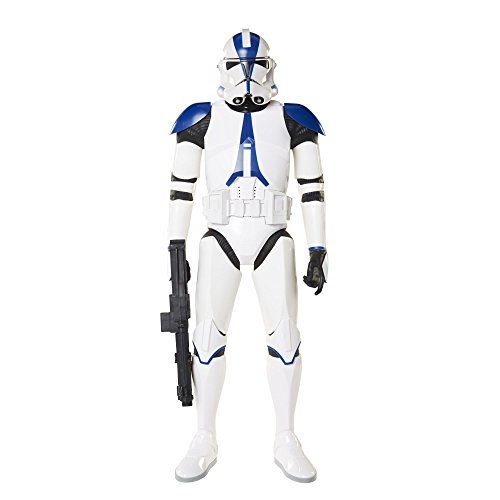 Star Wars - Clone Trooper, Aktionsspielzeug, 45 cm, blau