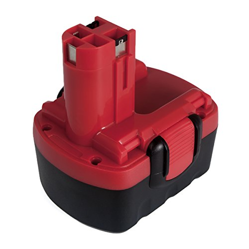 Preisvergleich Produktbild FLAGPOWER 14.4V 2.0Ah Werkzeug Akku für Bosch BAT038 BAT040 BAT041 BAT140 BAT159 BAT048 BAT100 BAT119 2607335264 2607335276 2607335432 2607335465 2000mAh Ni-CD Batterie