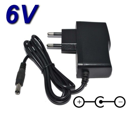 TOP CHARGEUR * Netzteil Netzadapter Ladekabel Ladegerät 6V für Kinder MP3-CD-Player X4-Tech Bobby JOEY