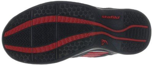 Chung Shi AuBioRiG Balance Step Promo 9100120, Scarpe da camminata donna Rosso (Rot (rot/schwarz))