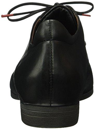 Piensa - Bussi, Zapatos Planos Mujeres Negro (negro (sz / Kombi 09))