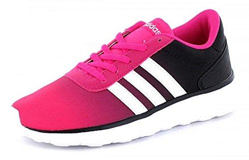 adidas Lite Racer K, Chaussures de Tennis Mixte Enfant Rose (Rosimp/ftwbla/negbas)