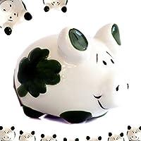 Preisvergleich für Sparschwein KCG Glücksschwein MINI mit Magnet Keramik handbemalt 4,5x3,5 cm JEB