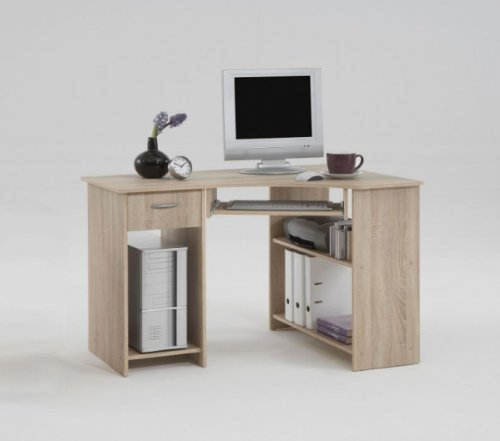 Eck-PC-Schreibtisch Felix eiche